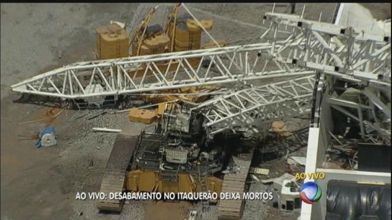 O guindaste que caiu era considerado o maior do Brasil e possuía capacidade para suportar até 1500 toneladas. Ainda não é possível saber os motivos da queda