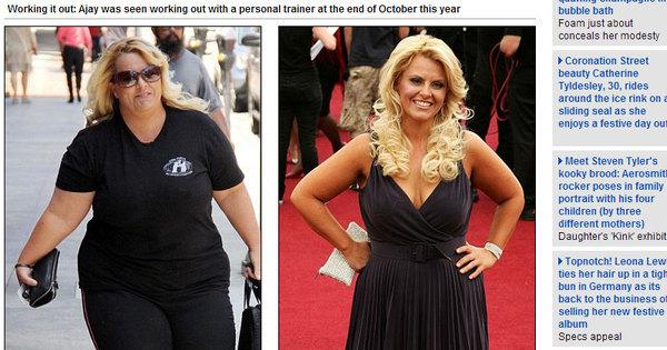 Quase lá! De biquíni e com 25 kg a menos, ex- obesa mostra os ...