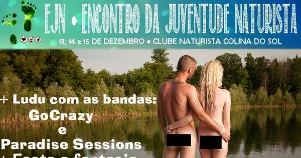 Peladões invadem o RS neste final de semana em encontro naturista