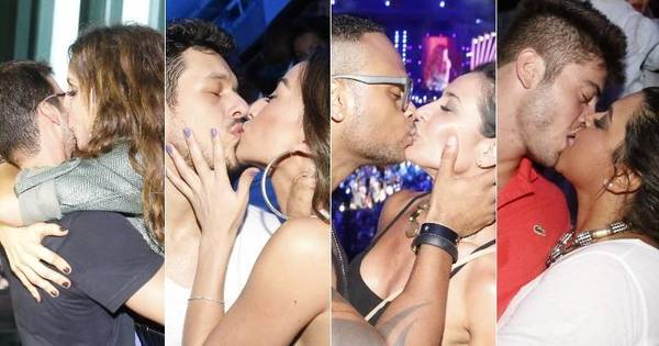Que loucura! Sabrina Sato, Scheila Carvalho e Preta Gil beijam ...