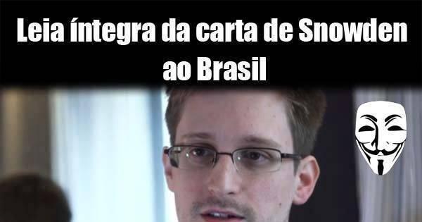 Anonymous faz campanha para Brasil dar asilo a Edward Snowden ...