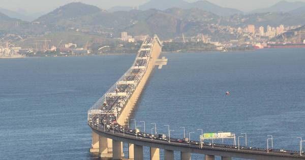 Ponte Rio-Niterói deve receber quase 500 mil carros neste feriadão ...