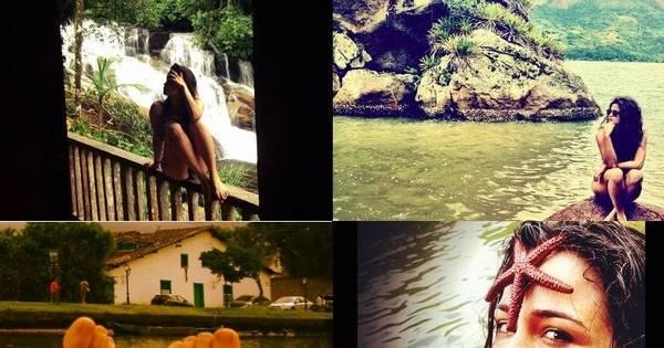 Nanda Costa aproveita as férias de fim de ano em Paraty. Veja ...