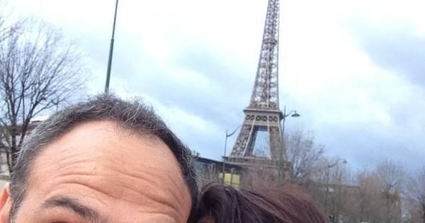 Cátia Fonseca curte viagem romântica em Paris com novo ...