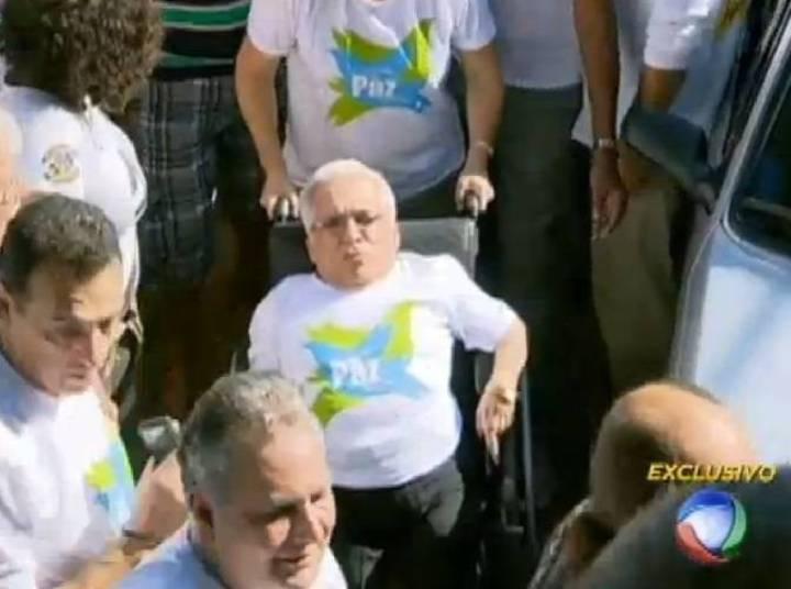 Em 2003, sofreu um AVC (acidente vascular cerebral) que afetou de vez suas habilidades. Passou a morar em São Paulo, em uma casa toda adaptada, na companhia das irmãs