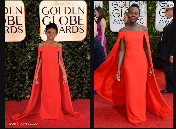 Lupita Nyong'o não é a única a arrasar de capa vermelha