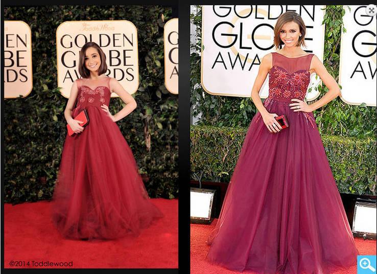 Giulianna Rancic também ganhou sua versão mirim