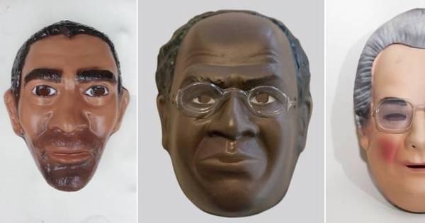 Fábrica cria máscaras de carnaval do Amarildo e família vai receber ...