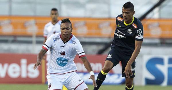 Cícero marca no fim e salva Santos contra o Ituano - Esportes - R7 ...