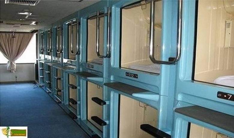 Se você gosta de pagar por um quarto grande, fique à vontade. No Japão, quando mais gente couber em menos espaço, melhor!