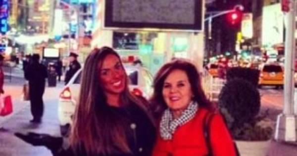 """Nicole Bahls se declara para a mãe: """"Obrigada por existir ..."""