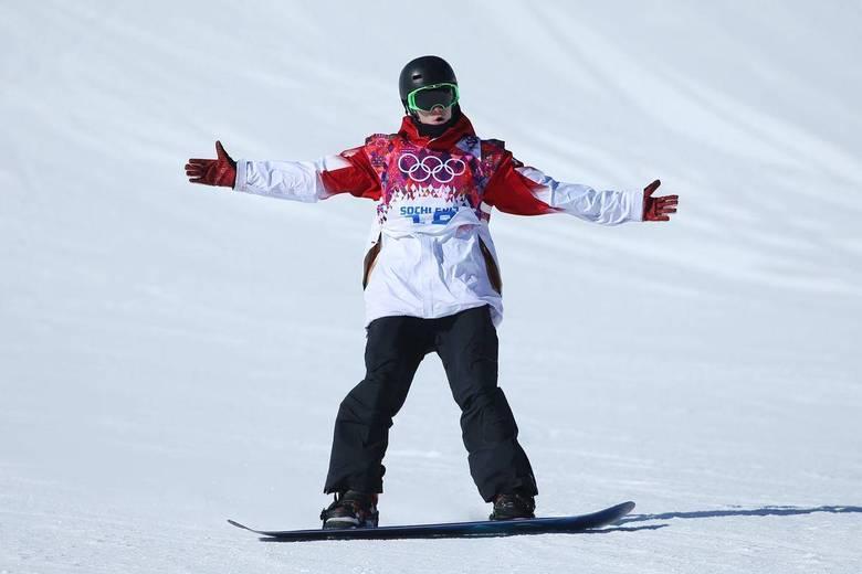 O canadense   Maxence Parrot  foi o último a descer em Sochi e terminou na quinta colocação