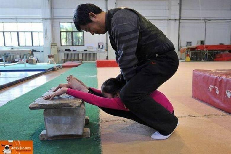 Treinador chinês gosta de atleta assim: que tá contigo e não abre!