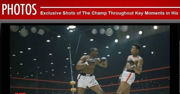 Luvas do primeiro título mundial de Muhammad Ali vão a leilão ...