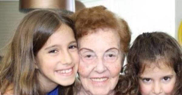 Avó de Rodrigo Faro completa 90 anos e ganha homenagem da nora