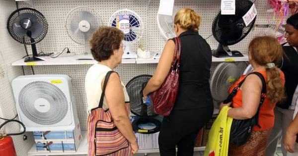 Com onda de calor, dispara a venda de ventiladores e aparelhos de ...