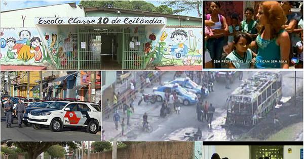 Tráfico, brigas, lixão e até calote afetam escolas, veja casos - Fotos ...