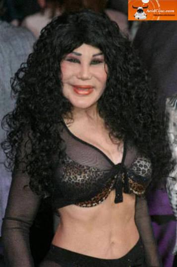 Parece a cantora Cher no futuro?