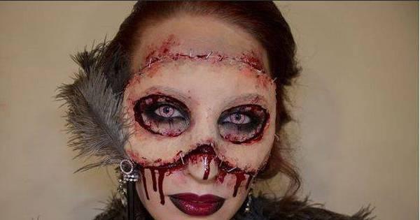 Maquiagens aterrorizantes da internet assustam até assombração ...