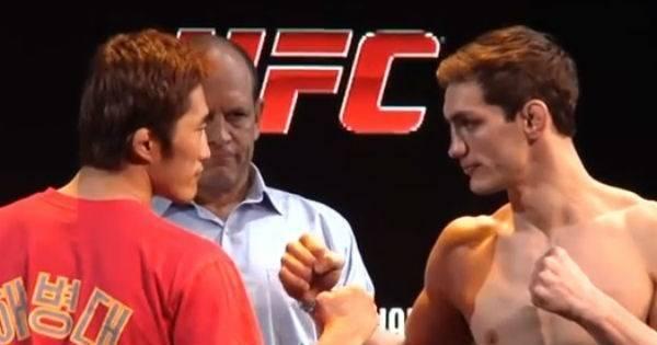 Lutadores vencem guerra com a balança para UFC de Carnaval ...