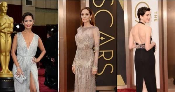 Vestidos beges, fendas e decotes inusitados marcam Oscar 2014 ...