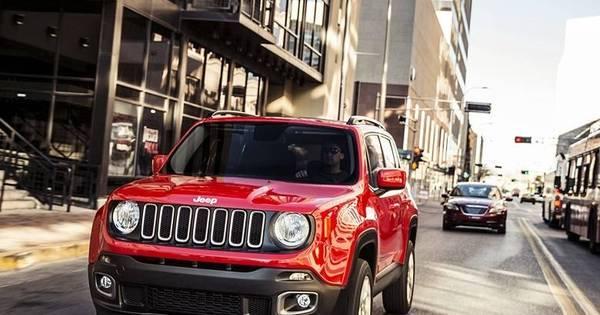 Jeep revela o Renegade, jipinho que será produzido pela Fiat em ...