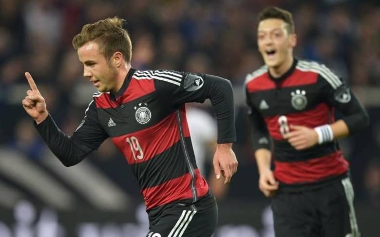A Alemanha, uma das principais favoritas para o título da Copa do Mundo, é a segunda colocada