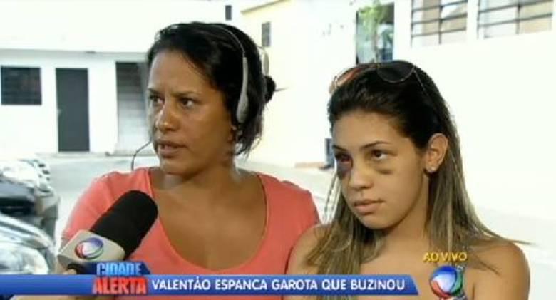 A mãe de Letícia conta que o agressor é lutador de jiu-jitsu e que usou o corpo como arma:— Pra mim foi uma tentativa de homicídio