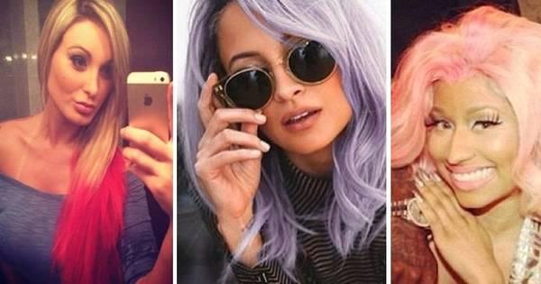 Nicki Minaj, Andressa Urach e Nicole Richie apostam em cabelos ...