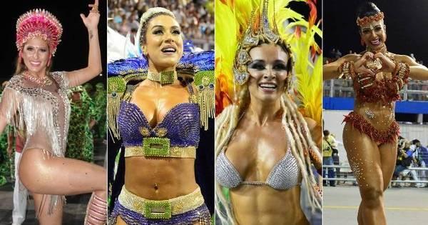 Veja as musas que brilharam no desfile das campeãs do Carnaval ...