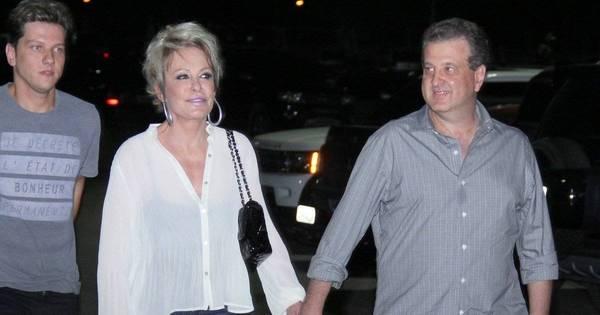 Ana Maria Braga comemora seis meses de namoro com empresário ...