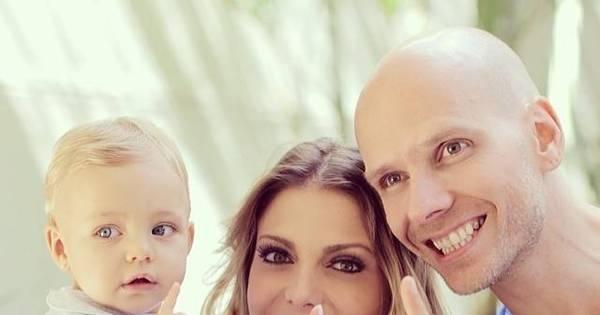 """Sheila Mello e Fernando Scherer posam com Brenda: """"Vai fazer um ..."""