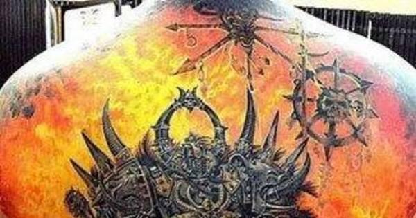 Tatuados esculacham o corpo com desenhos medonhos - Fotos ...