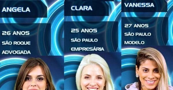 Vejam os motivos que levaram Angela, Clara e Vanessa ao final do ...