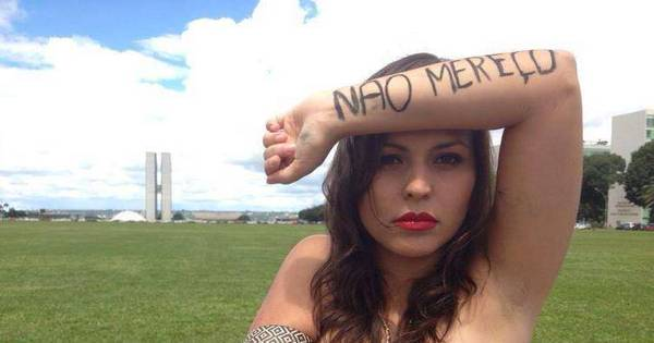 """Brasiliense cria movimento """"Eu não mereço ser estuprada"""" que já ..."""