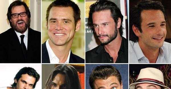 Que mudança! Veja fotos dos famosos com e sem barba - Fotos ...