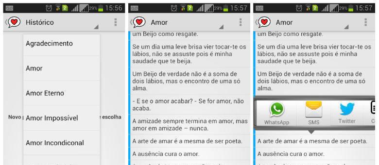 Frases De Fim De Namoro Para Whatsapp: Aplicativo Ajuda Românticos De Plantão Com Frases De Amor