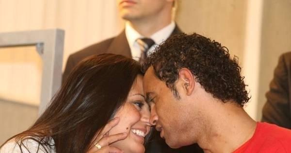 Goleiro Bruno se casa dentro da cadeia após seis anos de namoro ...