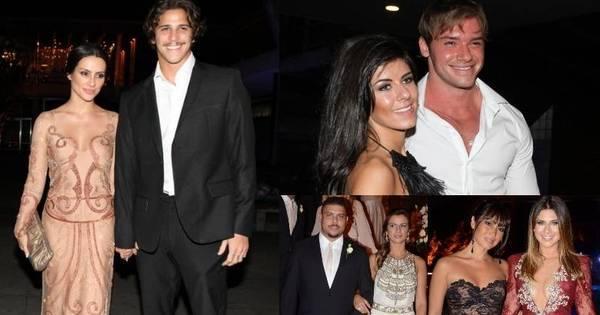 Casamento da sobrinha de Luma de Oliveira atrai famosos como ...