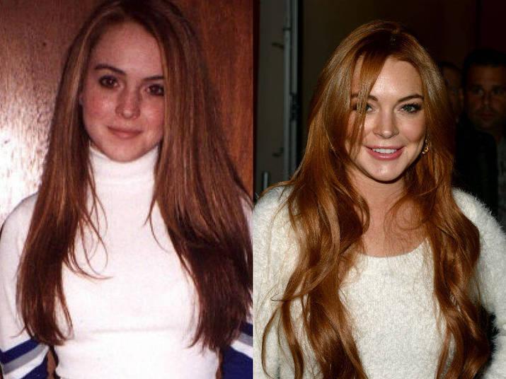 Por fim, Lindsay Lohan foi mais uma a seguir o passo de várias americanas