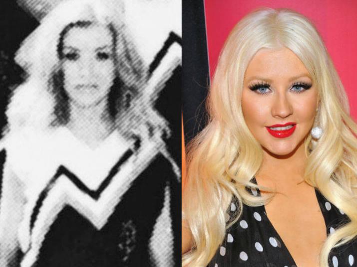Christina Aguilera, por sua vez, usou um pouco do que aprendeu como cheerleader em sua carreira artística