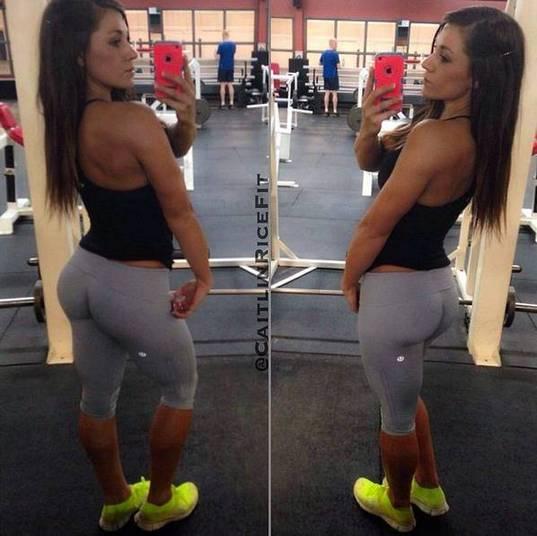 Em seu perfil nas redes sociais, Caitlin Arroz arranca elogios dos seguidores que exaltam suas curvas