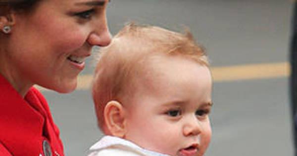 George pode perder o posto de bebê mais lindo da realeza; veja ...