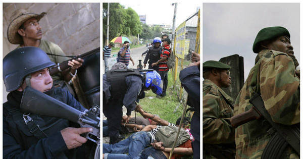 437 mil assassinatos: conheça os 10 países mais violentos do mundo