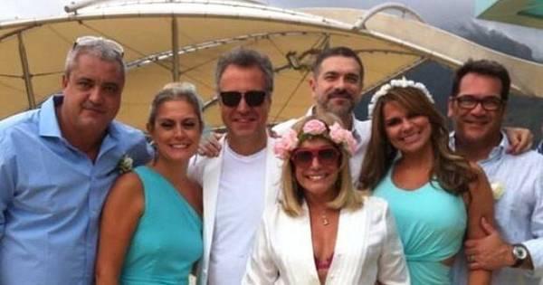 Susana Vieira celebra casamento do filho em alto- mar ...