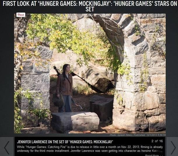 Mais para o fim do ano, os fãs de Jogos Vorazes verão a heroína Katniss, vivida por Jennifer Lawrence, novamente em ação. Em 21 de novembro deve chegar aos cinemas Jogos Vorazes: A Esperança — Parte 1, primeira metade da adaptação do último livro da série