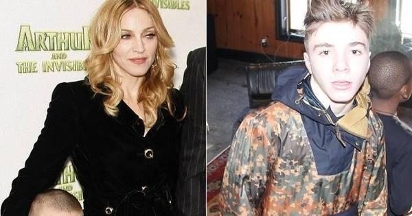 Filho de Madonna foge de casa e vai morar com o pai ...