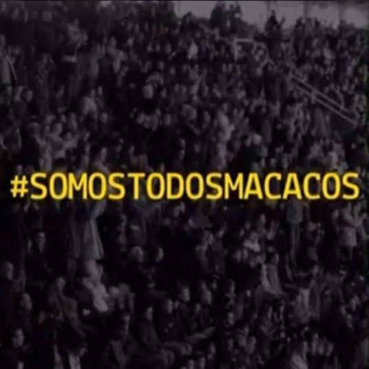 Bruna Marquezine, ex-namorada de Neymar publicou em seu Instagram um vídeo onde aparece a hashtag da campanha '#somostodosmacacos