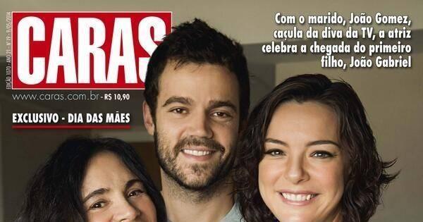 """Regiane Alves mostra rostinho do filho pela primeira vez: """" Muita ..."""