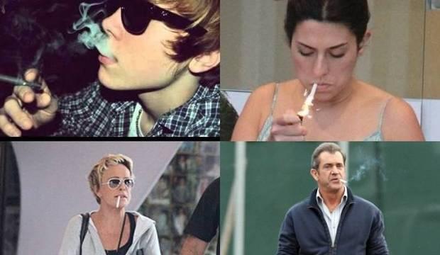 Descubra quem são os famosos que fumam (ou já fumaram)
